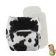 Rellenable Deluxe velcro absorbentes vaca