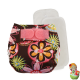 Rellenable Deluxe velcro absorbentes flores