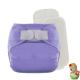 Rellenable Deluxe velcro absorbentes lavanda