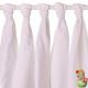 Gasas de algodón orgánico blanqueado XKKO