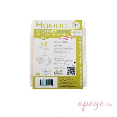 Absorbentes Hamac microfibra talla 1