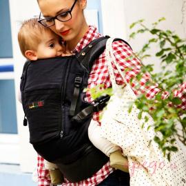 Physiocarrier cuero Je porte mon bébé