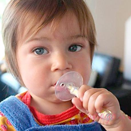 Cepillo de dientes infantil de silicona Jack n' Jill