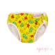 Bañador pañal Imse Vimse yellow seahorse