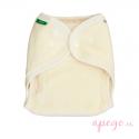 Pañal ajustado OneSize de algodón orgánico Popolini