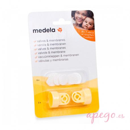 Pack de válvulas y membranas Medela