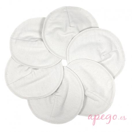 Discos de lactancia lavables Imse Vimse de algodón orgánico natural