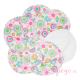 Discos de lactancia lavables Imse Vimse de algodón orgánico flores