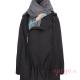 Abrigo de porteo Wallaby 2.0 negro gris