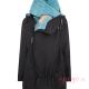 Abrigo de porteo Wallaby 2.0 negro azul
