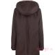 Abrigo de porteo Wallaby 2.0 marrón rosa espalda