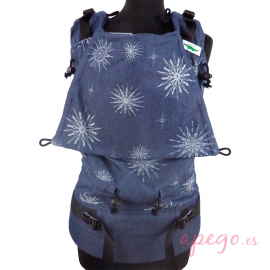 Mochila Portabebés Buzzidil Versatile Denim Star Exclusive XL