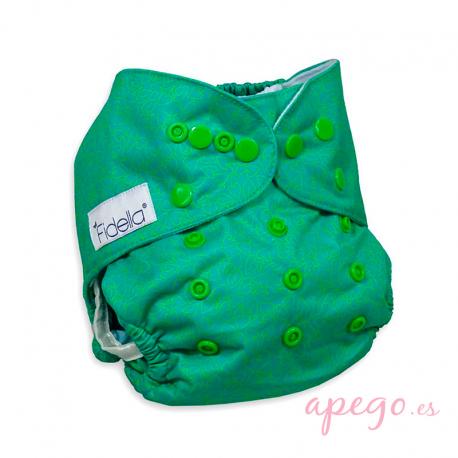 Pañal Fidella Amors love arrows green Todo en uno