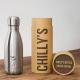 Botella Chilly's 260 ml inox caja