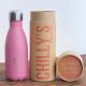 Botella Chilly's 260 ml rosa pastel caja