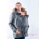 Abrigo de porteo para chico Bandicoot gris y negro