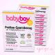 Cubre colchón Babybay terry packaging