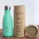 Botella Chilly's menta pastel 260 ml caja