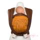 Fular tejido Hoppediz Jacquard New York mocca naranja