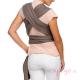 Fular Moby Classic de algodón Slate espalda