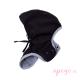 Capucha extraíble cobertor de porteo MaM Deluxe SoftShell FLeX negro gris