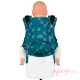 Mochila portabebés Fidella Fusion Toddler 2.0 Kaleidoscope ocean teal