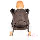 Mochila portabebés Fidella Fusion Toddler 2.0 Mosaic mocha brown