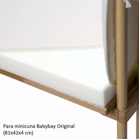 Colchón Babybay Clásico para minicuna Original