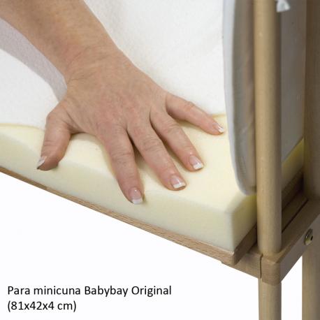 Colchón Babybay Visco-confort para minicuna Original