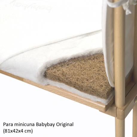 Colchón Babybay Eco para minicuna Original