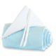 Protector para minicuna Original y cuna Babybay Azul turquesa