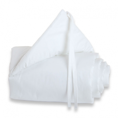 Protector para minicuna Maxi o Boxspring Blanco
