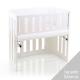 Barrera para minicuna Babybay Trend Lacado blanco