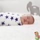Muselinas Aden + Anais Bamboo Celebration morado bebé