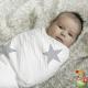 Muselinas Aden + Anais Bamboo Milky way gris bebé