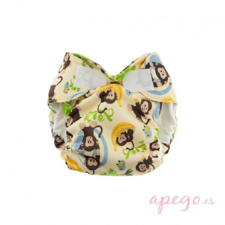 Simplex recién nacido velcro monitos