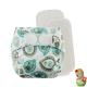 Rellenable Deluxe velcro absorbentes cachemir