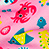 Pink sea life