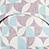 Fidella Kaleidoscope turquoise plum