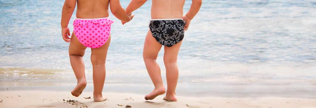 Banadores pañal infantiles Imsevimse