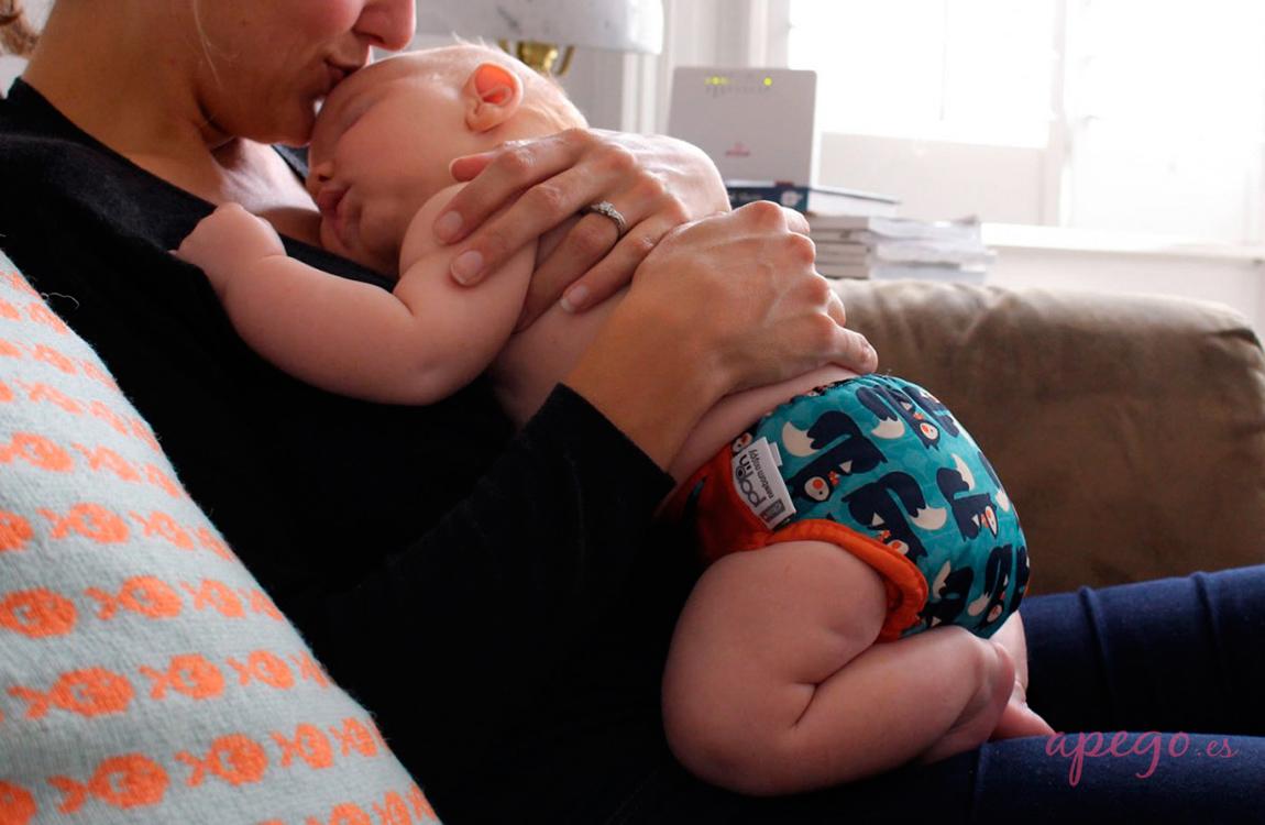 Pañal Todo en dos Pop in para recién nacido