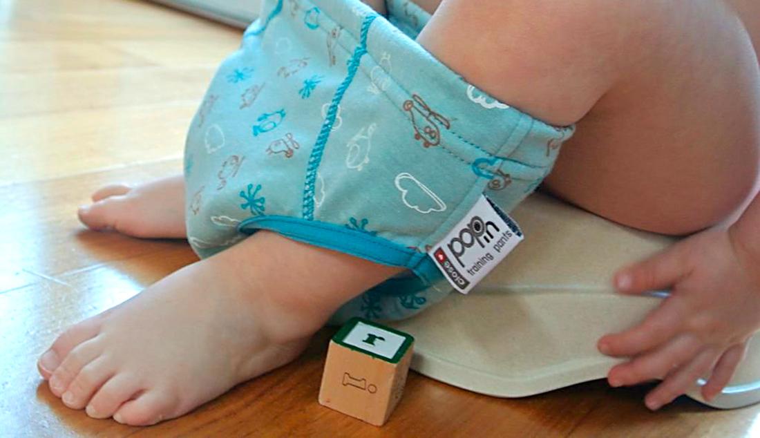 Pantaloncito de aprendizaje Close Parent Pop in