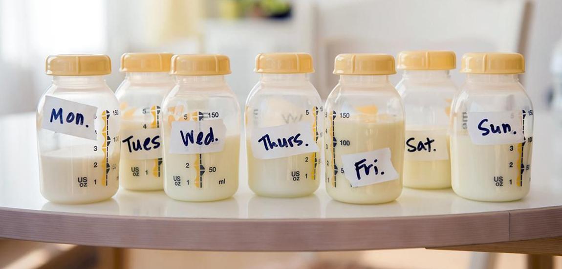 Botellas Medela para conservar leche materna