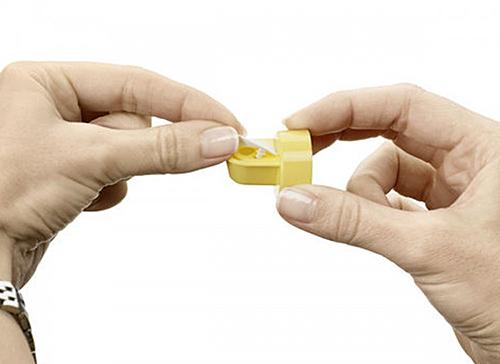 Cómo colocar la válvula y la membrana Medela