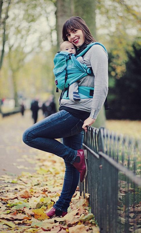 Mochila ergonómica para bebés