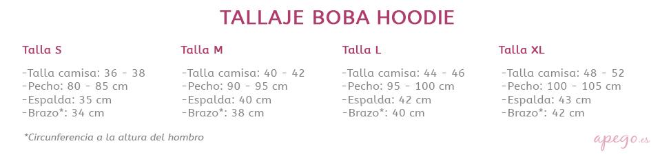 Tallas Boba Hoodie