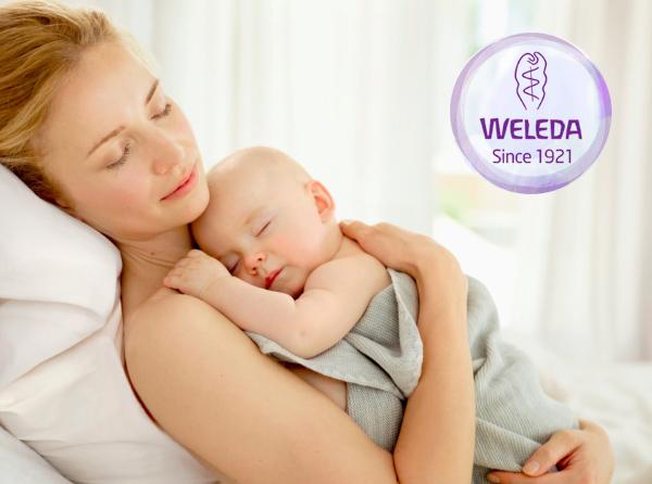 Bebé Derma Weleda malva blanca
