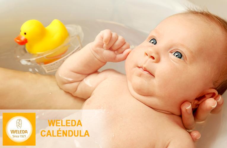 Baño bebé Weleda caléndula
