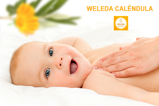 Body lotion Weleda caléndula