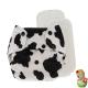 Rellenable Deluxe snaps absorbentes vaca